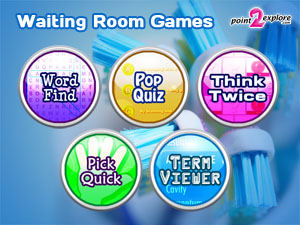 Educational Waiting Room Touch Screen Games